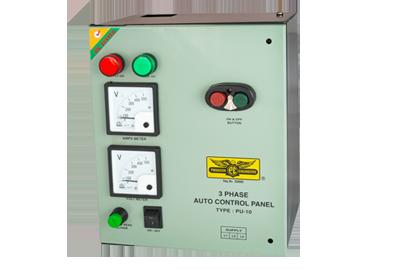 Electric motor starter submersible pump controller for Motor starter control panel